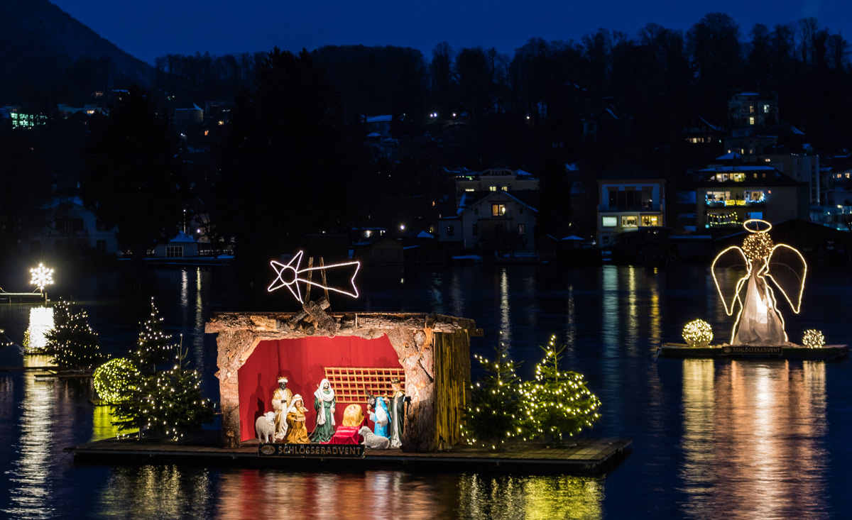 Advent in Oberösterreich - Traunsee